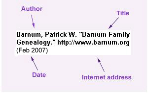 citing internet sources in essay mla